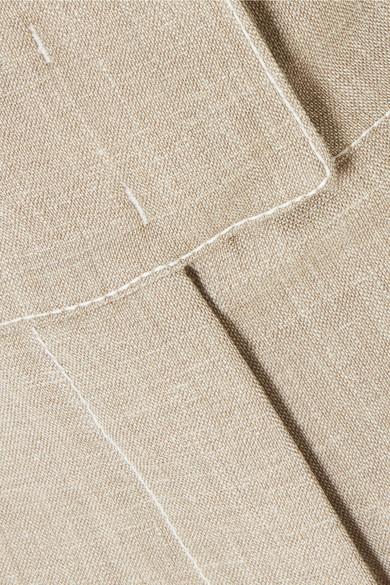 CASASOLA Shorts aus einer Wollmischung mit Falten