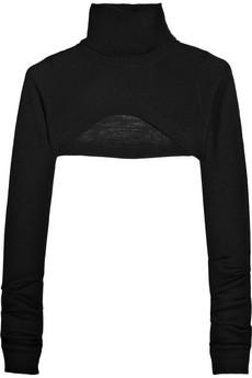 Preen|Cropped cashmere sweater|NET-A-PORTER.COM from net-a-porter.com