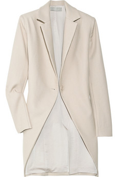 Preen | Tailcoat Crombie wool-crepe jacket | NET-A-PORTER.COM from net-a-porter.com