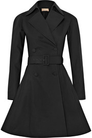 Alaïa Belted cotton-blend gabardine trench coat