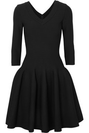 Alaïa Stretch-knit mini dress
