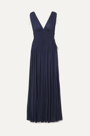 Alaïa Ruched jersey gown