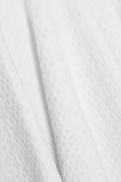 Alaïa Malte Minikleid aus Jacquard-Strick