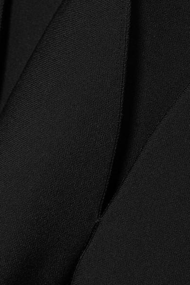 Alaïa Robe aus Stretch-Strick mit Biesenfalten