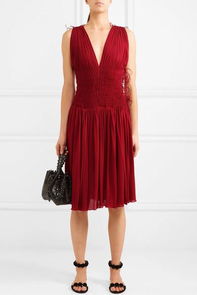 Billig Verkaufen Kaufen Alaïa Kleid aus Jersey mit gesmokten Details und Falten Wählen Sie Eine Beste Online Billig Verkauf Genießen Empfehlen Günstigen Preis Sie Günstig Online Authentisch PpZpoElsE