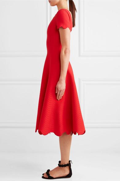 Alaïa Midi Dress In Jacquard Knitting