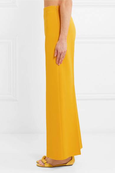 Billig Verkauf Am Besten Gute Qualität Alaïa Verkürzte Hose mit weitem Bein aus Strick Auslass Bestseller NnVhoms
