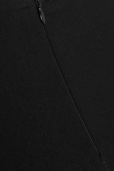 Alaïa Diamond ausgestellter Maxirock aus Stretch-Strick mit lasergeschnittenen Details