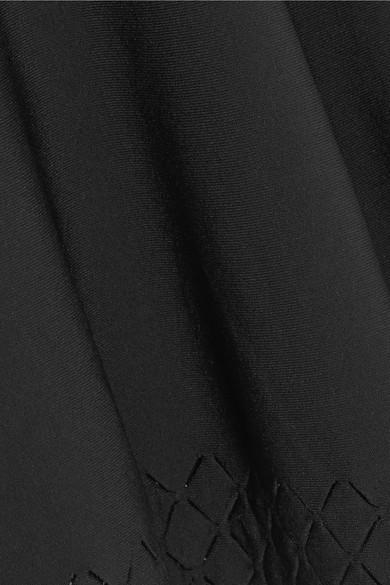Alaïa Diamond Laser Cut Knit Tunic