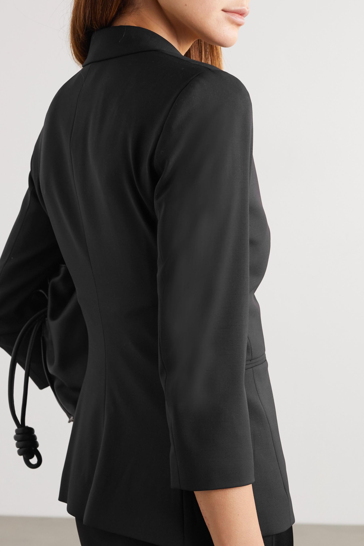 The Row Schoolboy stretch wool-blend crepe blazer