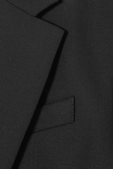 The Row Schoolboy Blazer aus Crêpe aus einer Stretch-Wollmischung