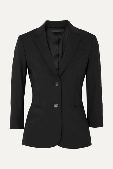 The Row Schoolboy Blazer From Crêpe From A Stretch-wool Blend