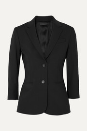 The Row Schoolboy stretch wool-blend crepe blazer