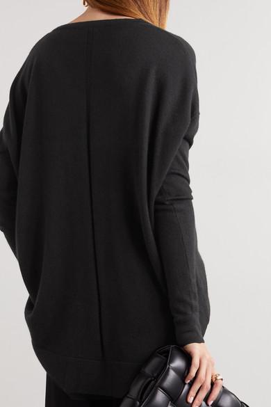 The Row Amherst Oversized-Pullover aus einer Kaschmir-Seidenmischung