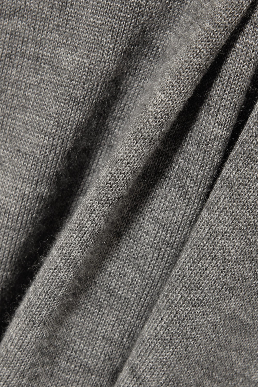 The Row Amherst 大廓形羊绒真丝混纺毛衣