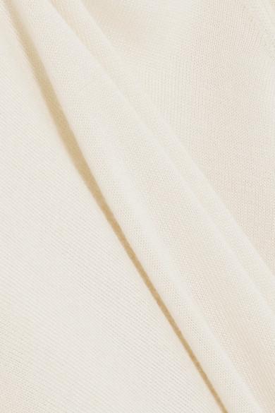 The Row Ghent Pullover aus einer Kaschmir-Seidenmischung
