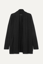 Knightsbridge stretch-jersey cardigan