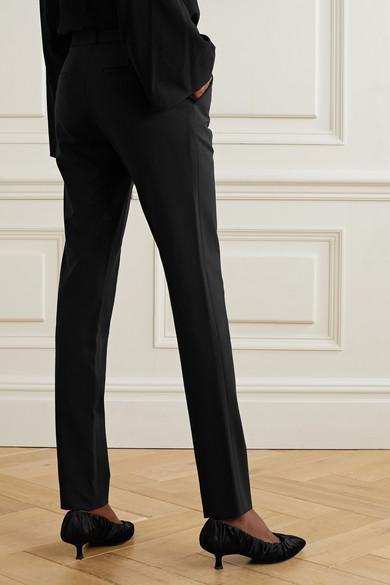 The Row Franklin Hose mit schmalem Bein aus einer Wollmischung