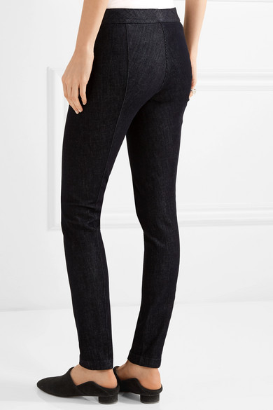 The Row Stratton Jersey-Leggings aus Stretch-Baumwolle