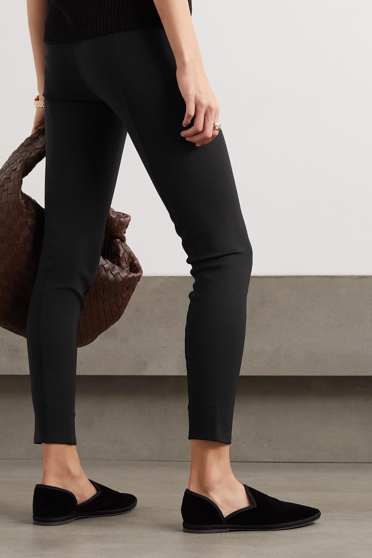 The Row Relma stretch-scuba leggings