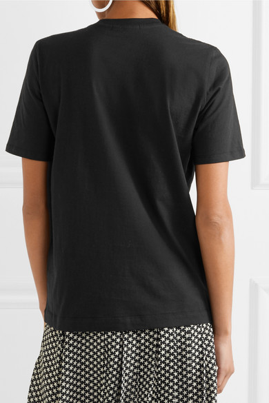Markus Lupfer T-Shirt aus Baumwoll-Jersey mit Paillettenverzierung Günstiger Preis Store Original Günstiger Preis Zu Verkaufen Authentische Online Kaufen HWlcNDa9