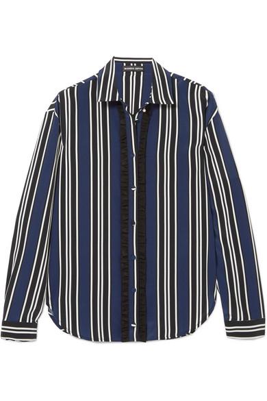 22c4fe6d08020 Markus Lupfer. Clara striped silk shirt