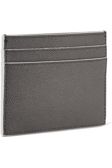Saint Laurent Kartenetui aus strukturiertem Leder Verkauf Günstiger Preis Wahl Billig Verkaufen Brandneue Unisex Neue Stile 8f17wg