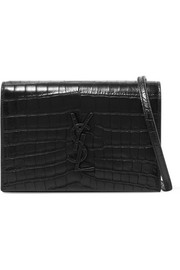 Monogramme Kate Toy croc-effect leather shoulder bag
