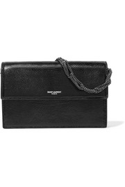 Saint Laurent Pochette small lizard shoulder bag