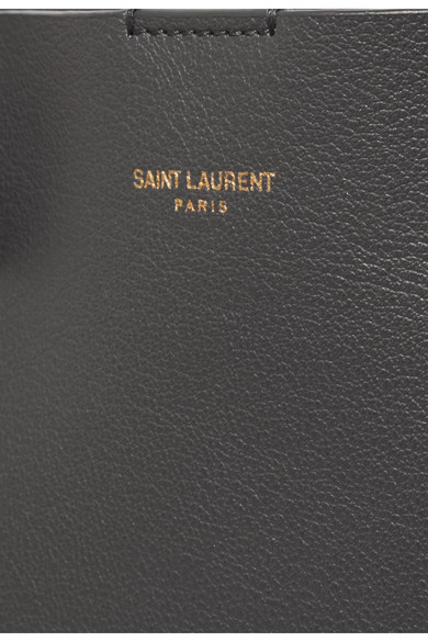 Saint Laurent Shopper große Tote aus strukturiertem Leder