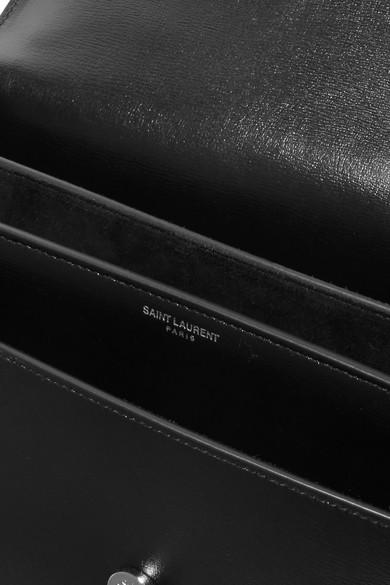 Saint Laurent Sunset große Schultertasche aus Leder