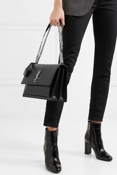 341eaf920e41 Sunset large leather shoulder bag.  2