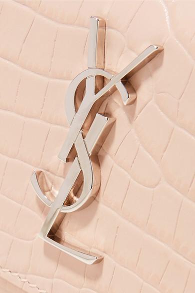 Freies Verschiffen Bester Verkauf Billige Angebote Saint Laurent Sunset Schultertasche aus Leder mit Krokodileffekt Billige Finish bc6pYIG