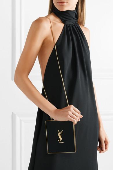 Tuxedo Plexiglas Shoulder Bag - Black Saint Laurent 5uJAiD8sS