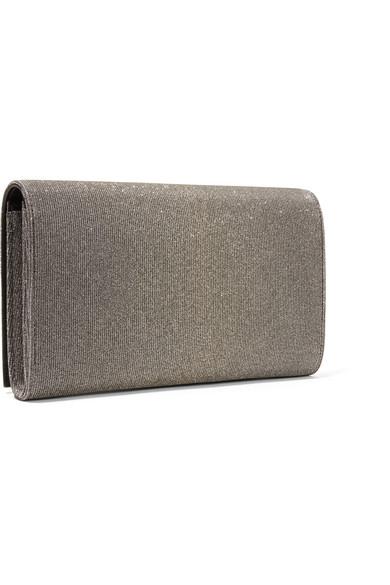 Saint Laurent Shoulder Bag Made Of Textured Lame