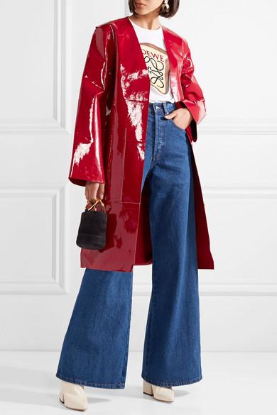 G眉rtel Solace Safina Solace mit London Mantel Lackleder G眉rtel aus mit aus London Safina Solace Safina London Lackleder Mantel qddBfCH