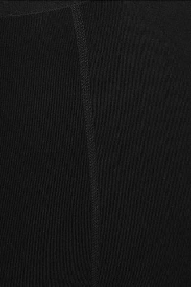 Alaïa Leggings aus einer Wollmischung mit Stretch-Anteil