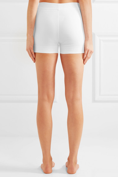 Alaïa Shorts aus Stretch-Strick