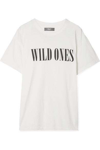 AMIRI Bedrucktes T-Shirt aus Baumwoll-Jersey