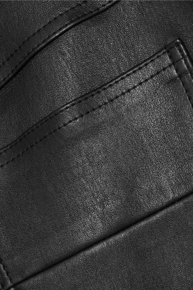 AMIRI Minirock aus Leder
