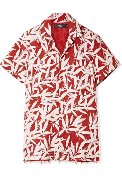 AMIRI Bedrucktes Hemd aus Tencel® Günstig Kaufen Die Besten Preise Zu Verkaufen  Wie Viel Billige Wahl Rabatt Billig uJIkxI