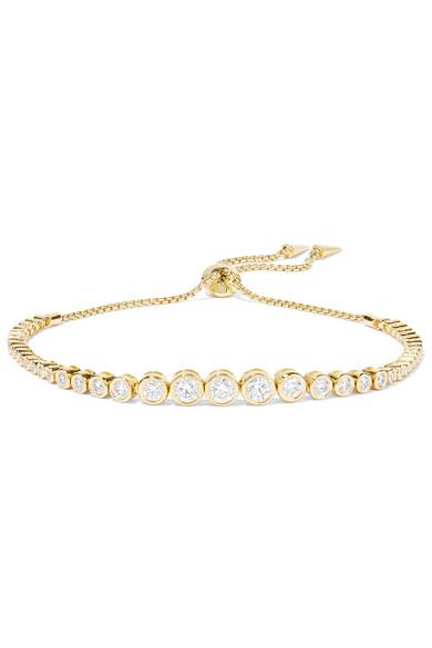 18-karat Rose Gold Diamond Bracelet - one size Jemma Wynne EsdFnD6