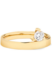 Prosperity 18-karat gold diamond ring