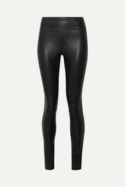 Helmut Lang Leggings aus Stretch-Leder