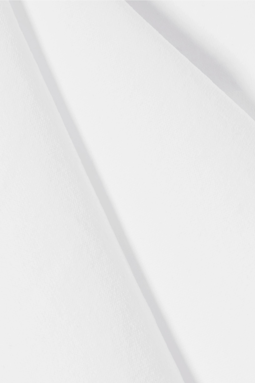 Helmut Lang Cutout stretch-jersey top