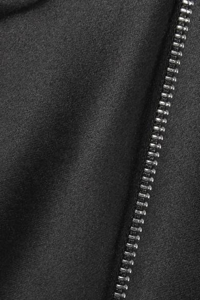 Helmut Lang Verziertes Minikleid aus Seidensatin