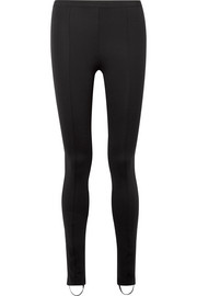 Helmut Lang Stretch-ponte stirrup leggings