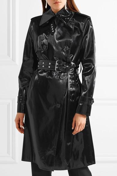 Trench-coat Helmut Lang En Coque Enduite