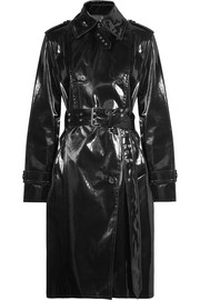 Coated-shell trench coat