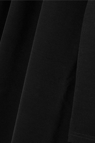 Helmut Lang Minikleid aus Stretch-Jersey mit Cut-outs